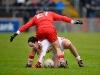 #15 ... Next time i shout through the legs i mean the ball (Ruairi McCarroll)