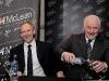 Glentoran Chairman Terence Brannigan and Paul McLean of A.McLean Bookmakers