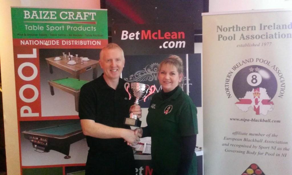 Ronan McCarthy BetMcLean 2015 NI Seniors Champion