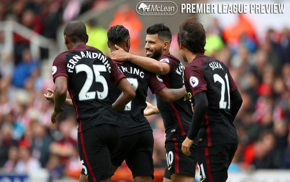 Stoke City v Manchester City - Premier League - The Bet365 Stadium