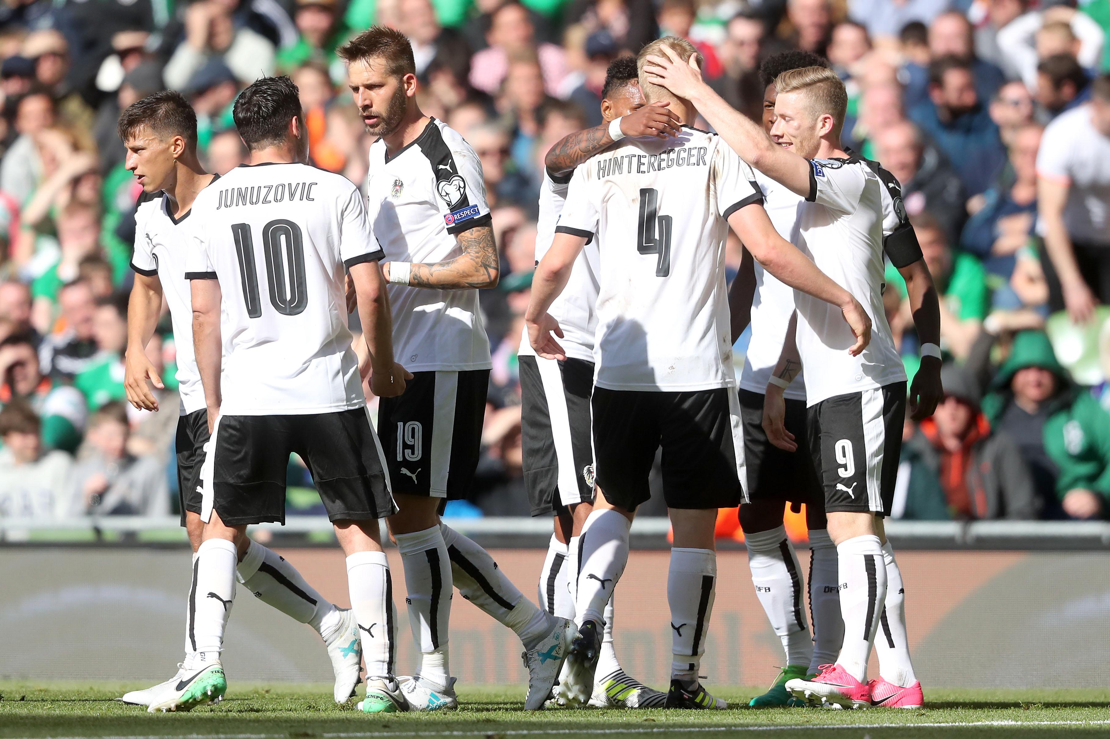 Republic Of Ireland V Austria 2018 Fifa World Cup Qualifying Group D Aviva Stadium